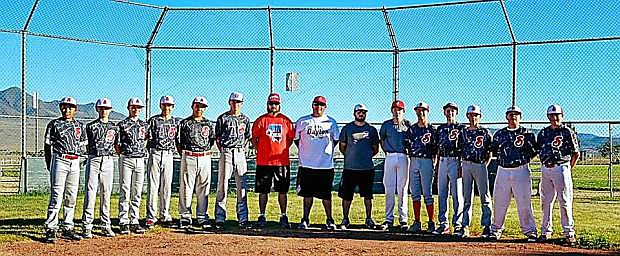 The Silverada Little League Junior All Star Team begins play July 11 in Fernley. Team members are between the ages of 12-14. They are from left: