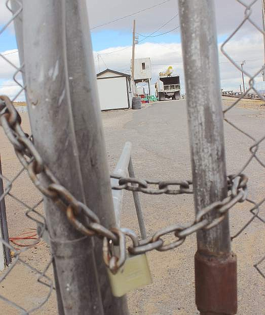 A Fallon man pleaded guilty in district court for breaking into Rattlesnake Raceway in October.