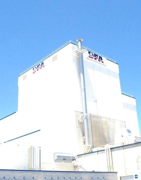 The DFA plant is one reason why agriculture is on the upswing in Churchill County.