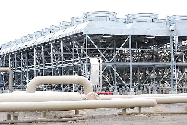 The Stillwater Hybrid facility, which generates power from geothermal and solar sources, is an example of the future of Nevada power.