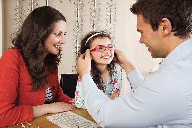 While parents remember most everything for their children's return to school, they forget eye exams.