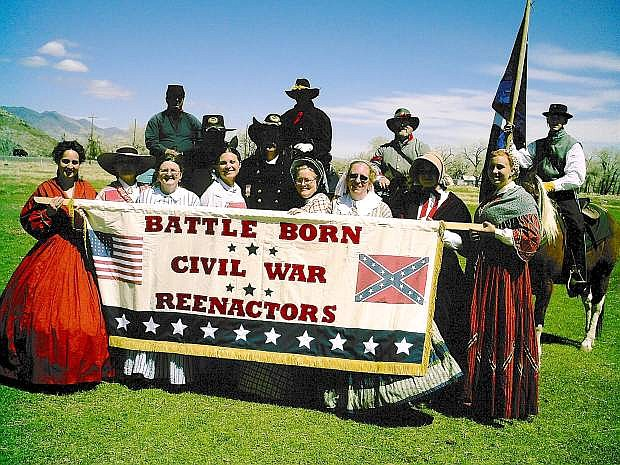 The Battle Born Civil War Reenactors will perform Saturday and Sunday as part of the Churchill Country Fair festivities.
