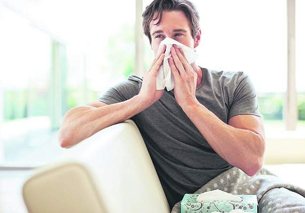Although both the cold and flu can drag down the body andmake it more tired, there are ways to determine if you have one or the other.