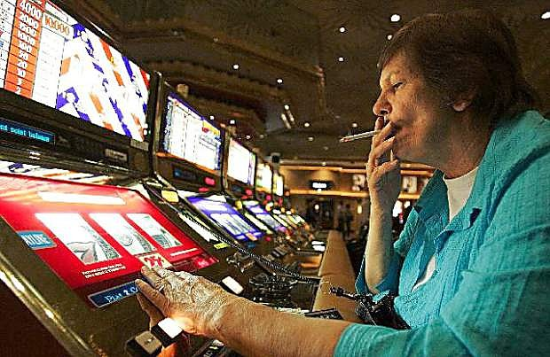 Gaming figures for August are up for both the state and Churchill County.