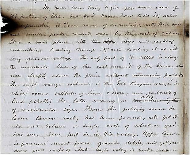 A letter from E. Allen Grosh and Hosea B. Grosh.