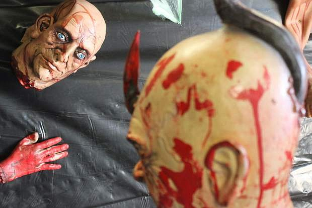 Churchill County Parks & Recreation will have surprises for everyone who enters the haunted house at the fairgrounds.