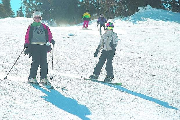 With an abundance of snow in the Sierra, safety is important while in the slopes.