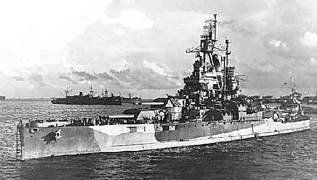 The battleship USS Nevada, which saw action during World War II, was launched nearly 100 years ago.