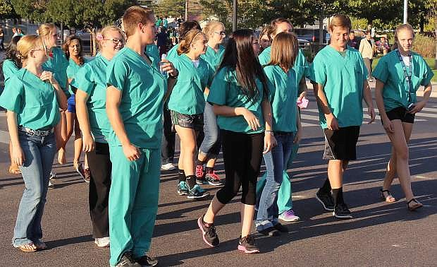 HOSA - an organization for students interested in health careers