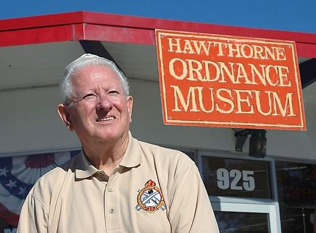 Retired Master Sgt. Tony Hughes of Hawthorne enjoyed two storied careers during his working years. He served 23 years in the Nevada Army Guard and was inducted into the Nevada Press Association Hall of Fame in 2006. The native Mineral County resident now volunteers much of his time at the Hawthorne Ordnance Museum.