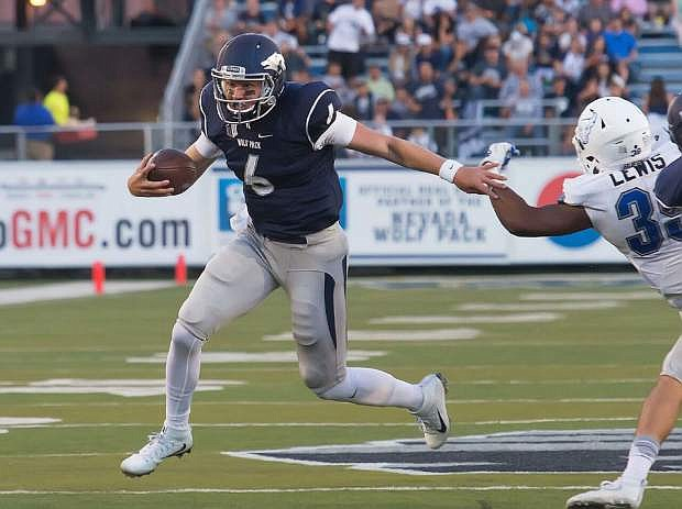 Ty Gangi has become Nevada's starting quarterback after an injury ended Tyle Stewart's season.