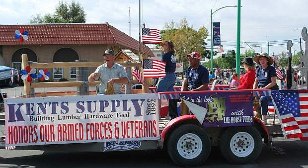 The annual Fallon Lions Club Labor Day parade features many entries incluidng politicans running for local and statewide office.