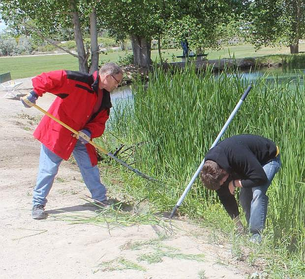 Bring your rakes, shovels, pruners, trimmers, cleaning tools, wheelbarrows and your trucks for hauling if you can. Help make our community better at Liberty Pond and Dog Park on Saturday from 8 a.m.-noon.