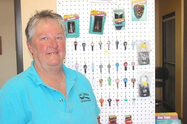 Julie Bennett has opened High Sierra Locksmith on East Cenetr Street.