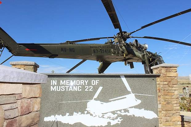 A memorial to honor Mustang 22 was completed five years ago to honor the legacy of the helicopter crew killed in action.