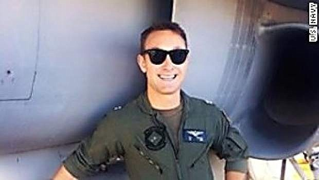 A Navy pilot missing and presumed dead after two jets collided over the western Pacific Ocean has been identified as Lt. Nathan Poloski, 26, of Lake Arrowhead, California. Poloski was flying an F/A-18 Hornet when it collided with another Hornet aircraft during routine flight operations Friday.