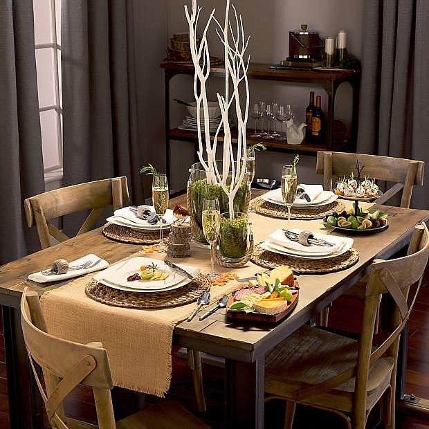 Setting the mood for your party during the holidays takes a special touch.