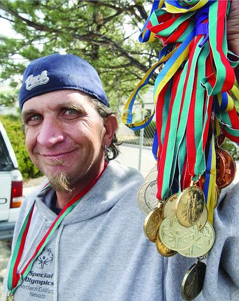 Carson City resident and Special Olympian Tyrone Shultz would like to invite the community to participate and support the annual Polar Plunge at Lake Tahoe on March 29.