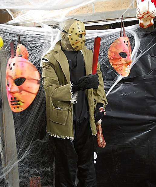 Churchill County Parks and Recreation's haunted house is open one more night, Saturday, from 6-10 p.m.