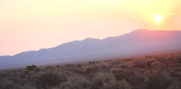 A plan to protect sage grouse habitat on Navy airspace would include eastern Churchill County iton the Desatoya Mountain Range area eastward into Lander and Eureka counties.