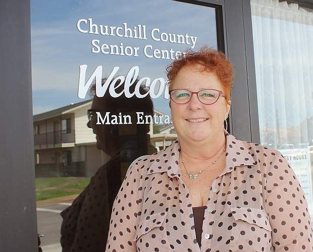 Lisa Erquiaga is the new director of the Churchill County Senior Center.