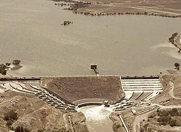 A modern-day view of the dam and reservoir.