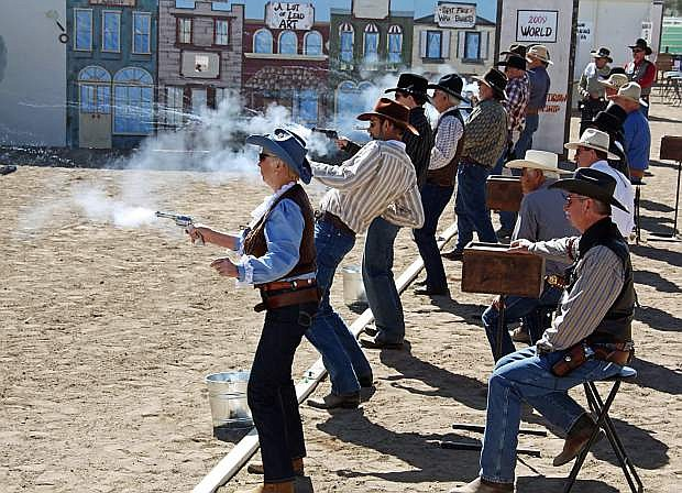 The World Championship of Cowboy Fast Draw begins next week at the Churchill CVounty Fairgrounds.