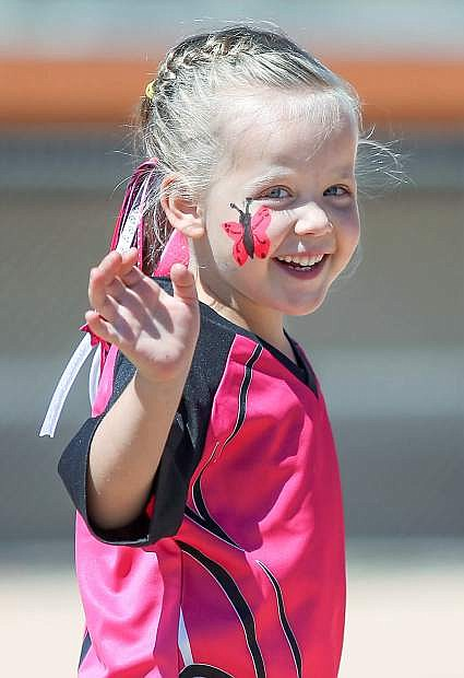 Hundreds of local players participate in Carson City AYSO opening day ceremonies at Edmonds Sports Complex in Carson City. Registration for the 2015 season will open April 11.