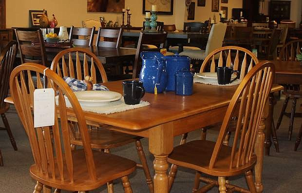 Taxable sales for furniture were up 44 percent for November. During 2015, Bassham Furniture, for example,, reported a good year in sales.