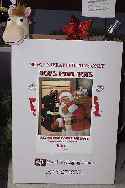Organizations in Fallon are scrambling to obtain enough toys for the area's youngsters.