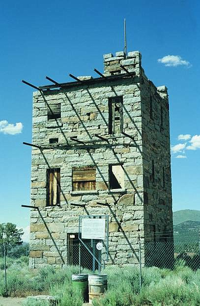 The stone marvel that is Stokes Castle, a historic oddity near Austin that was constructed in 1897.
