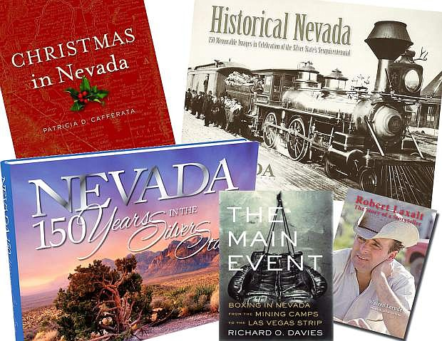 Books released this year or in prvious years about Nevada will make excellent Christmas gifts.