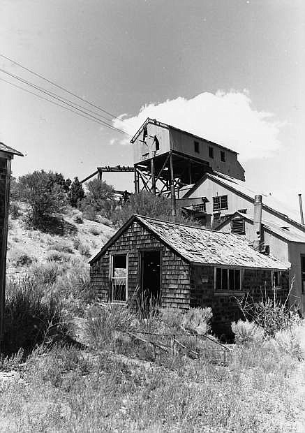 Belmont Mill, near Hamilton, is one of the most intact early 20th century mining camps still found in Nevada.