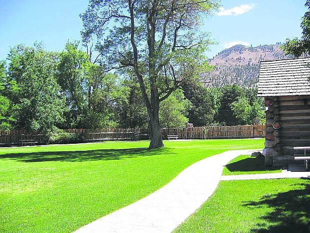 The picturesque Mormon Station State Historic Park is just one of the many attractions found along State Route 206 through the Carson Valley.