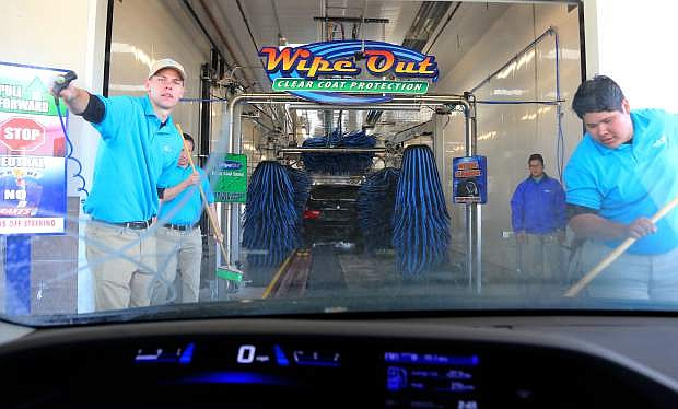 The new Surf Thru Express Car Wash located on Highway 50 east opened for business this past weekend.