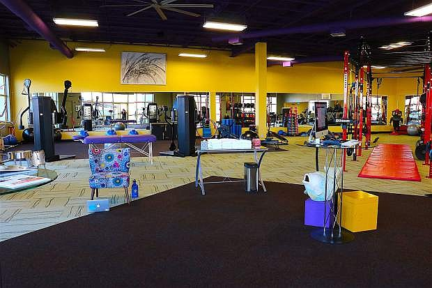 The Change Place offers personal trainers, yoga instructors, massage sessions and motivational conversations.