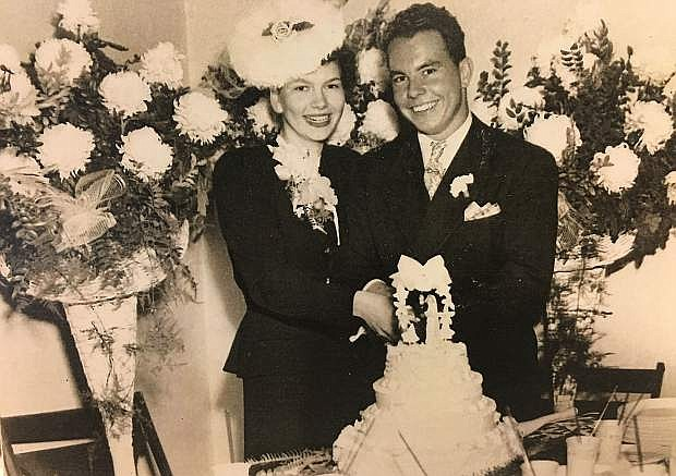 Married on Nov. 1, 1946, Tony and Shirley Klein marked their 70th anniversary on Tuesday. They celebrated in July with a service at Hilltop Community Church in Carson City.