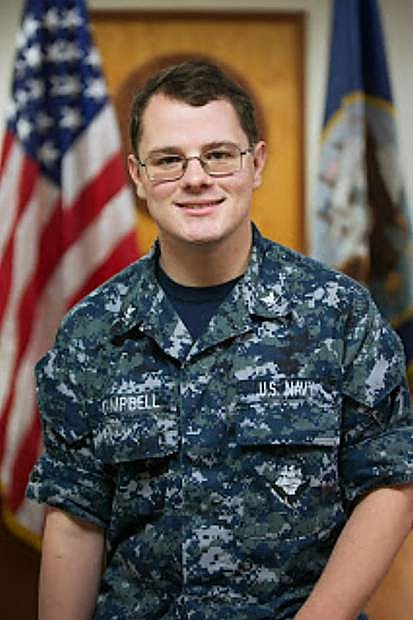 Petty Officer 3rd Class Connell Campbell is serving in the U.S. Navy aboard the nuclear-powered fast attack submarine, USS Chicago.