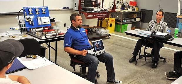 Shafiullah Nasratzada began taking Applied Industrial Technology classes last summer at Western Nevada College.
