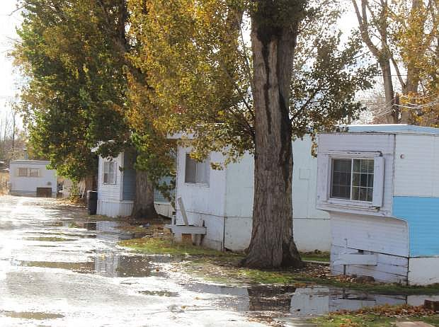 The Churchill County Commission has taken action to connect Casey Road Mobile Home Park to water and sewer.