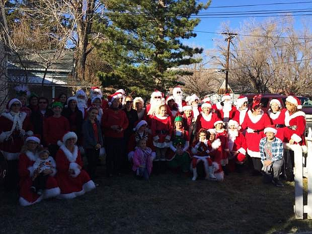 Volunteers with Friends to All delivered gifts and brought Christmas cheer to more than 150 local seniors on Dec. 17.