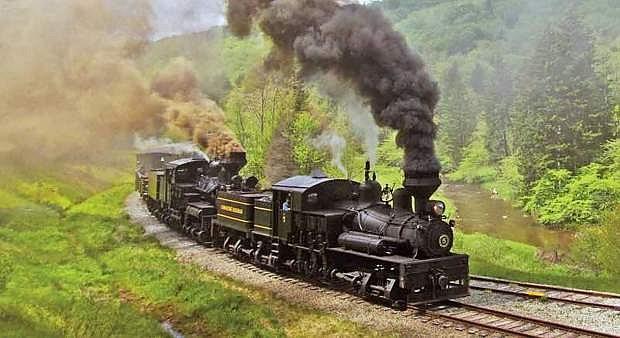 The rail tour features excursions on four historic trains.
