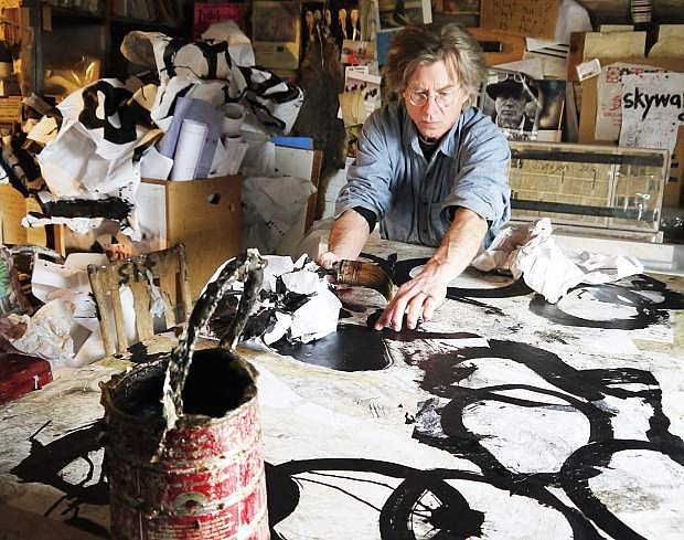 Montana artist Jerry Iverson will be at the E.I. Wigand Gallery at Oats Park on Saturday.