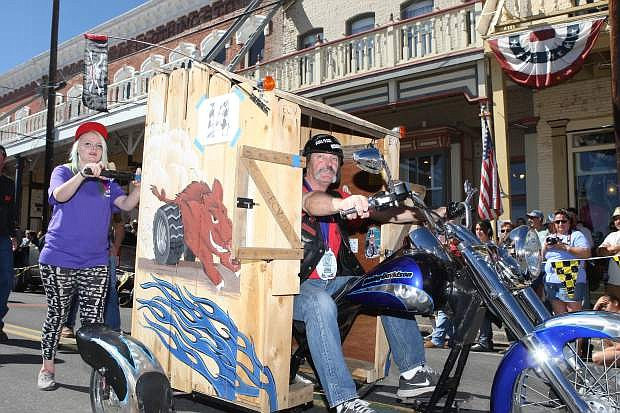 Virginia City Outhouse Races.