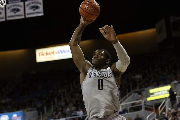 Cameron Oliver goes up for a dunk Wednesday against San Diego State.