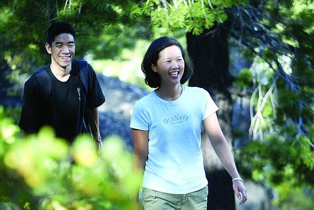 Five Lakes trail will have hikers all smiles after the initial uphill stretch.