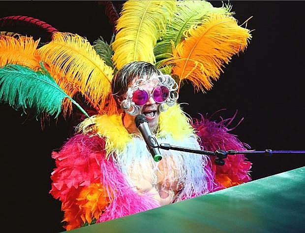 Rus Anderson as Elton John is starring in a performance to benefit Family Support Council.