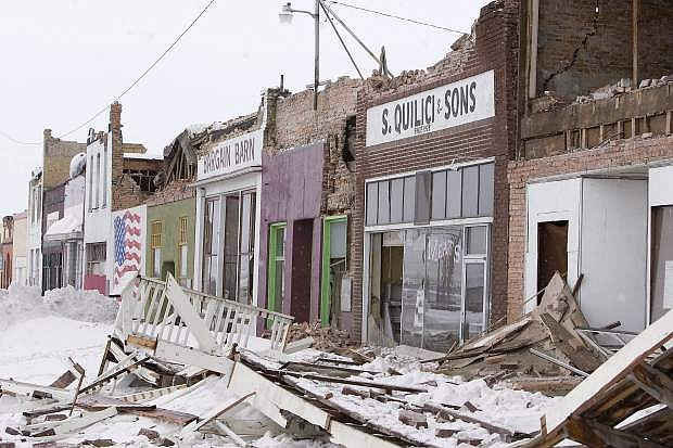 The historic district of Wells sustained severe damage in 2008 when a 6.0 magnitude earthquake struck the northeastern Nevada town, causing $10 million in damage.
