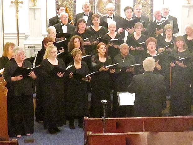 Carson Chamber Singers in concert, November 2015.