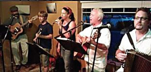 3-17, a Celtic band from Reno, is performing Saturday at the Brewery Arts Center.